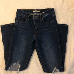 Levi's 721 High Rise Skinny - Excellent Condition
